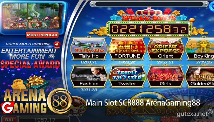 Main Slot SCR888 ArenaGaming88